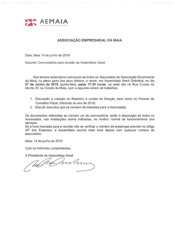 CONVOCATÓRIA AG 27_6_2019